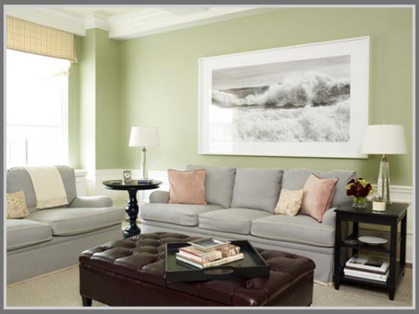 Warna Pastel Bisa Menjadi Pilihan Bagi Anda Untuk Menciptakan Ruang Tamu Yang Menarik