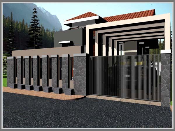 Warna Cat Pagar Rumah Minimalis 2019 Rumah Joglo Limasan Work
