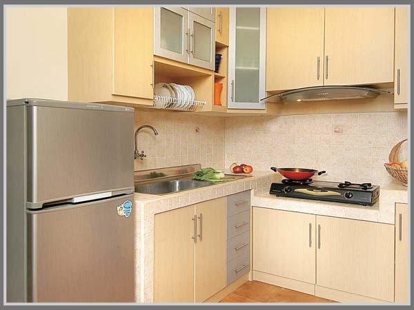 Mengaplikasikan Warna Pastel Pada Dapur