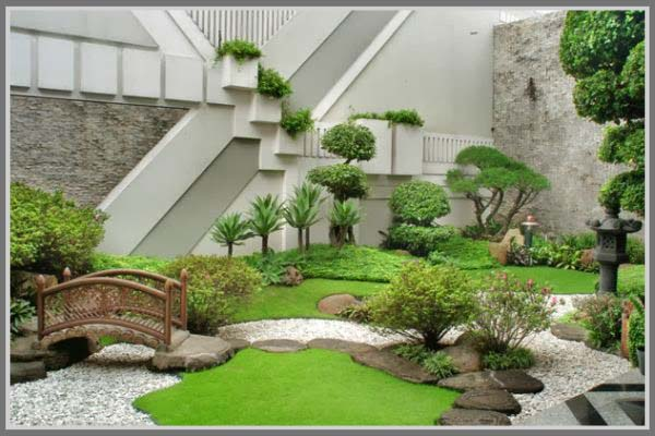 Ide Desain Taman Rumah Minimalis - Edupaint