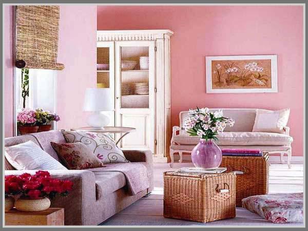 Pink Di Ruang Tamu