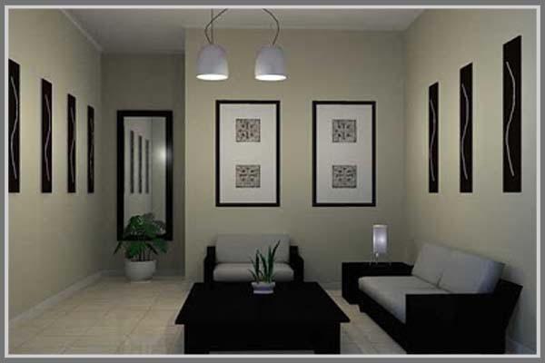 Pencahayaan Untuk Ruang Tamu Minimalis