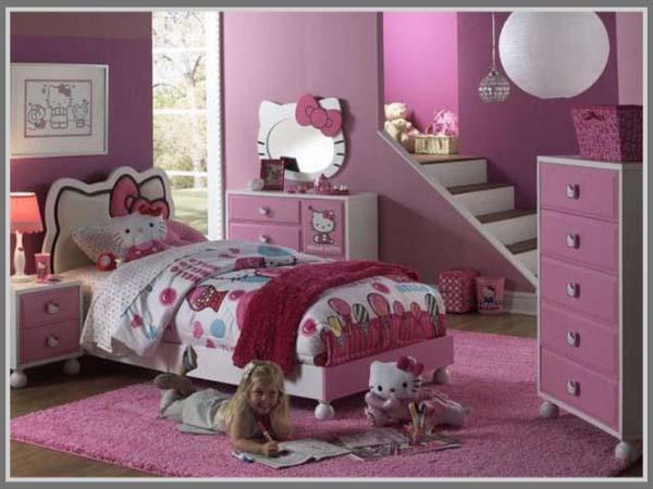 Tema Menyenangkan Di R Tidur Anak