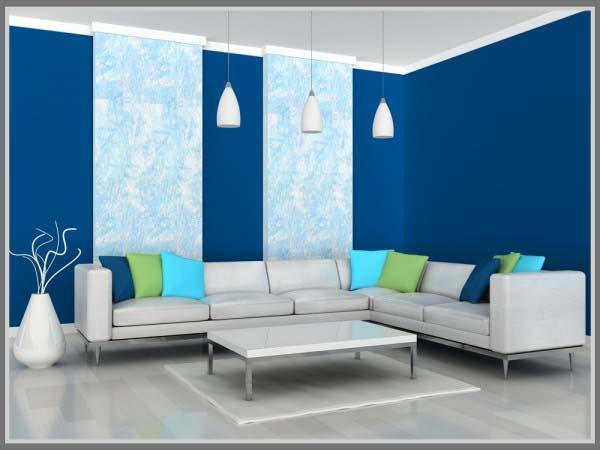 Warna Untuk Suasana Sejuk Di Ruang Tamu