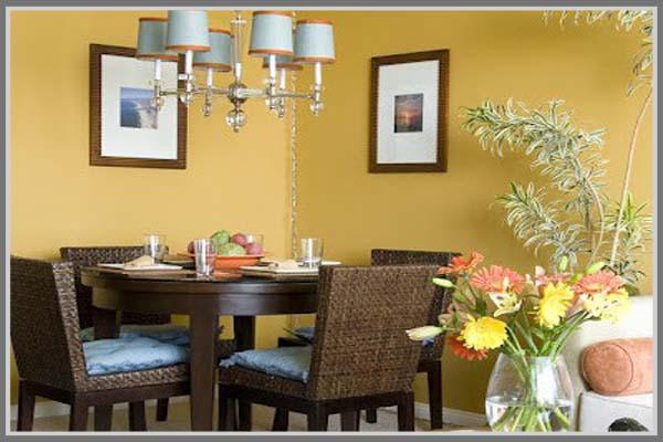 Cat Ruang Makan Dan Dapur