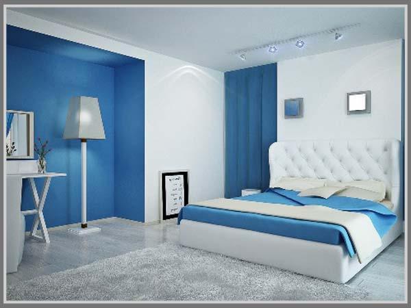 7200 Gambar Rumah Cat Biru Gratis