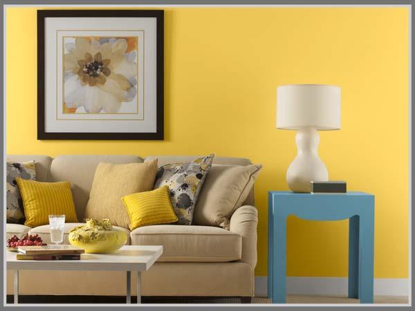 Inspirasi Interior Rumah Warna Kuning Eint