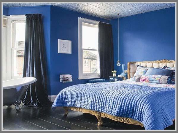 R Tidur Warna Biru