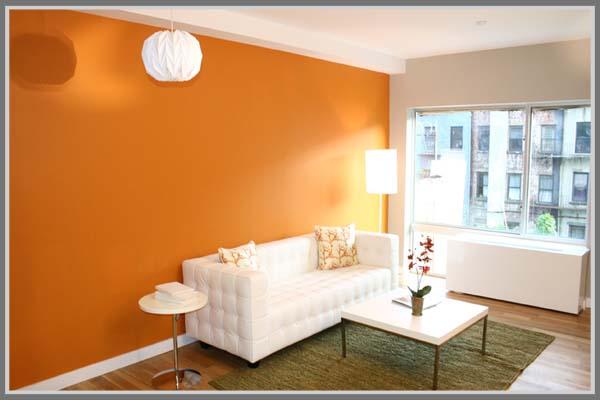 Warna Cat Dinding Rumah Yang Hangat