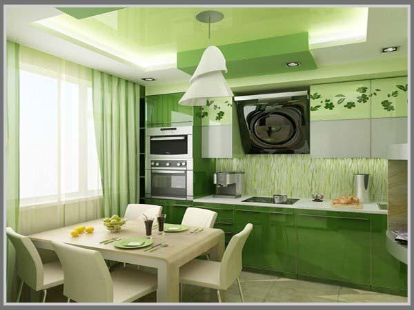 Dapur Warna Hijau Saat Ramadhan
