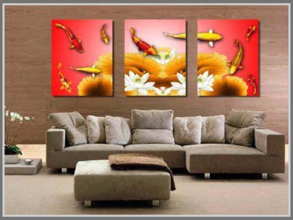 Lukisan Pada Ruang Tamu