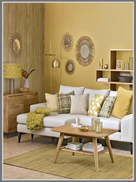 Warna Untuk Ruang Tamu Sempit
